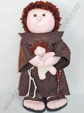 Boneco de pano Santo Antonio