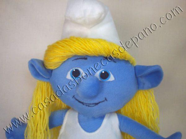 Pelúcia Smurfette Tema Smurfs