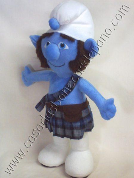 Pelúcia Valente Tema Smurfs