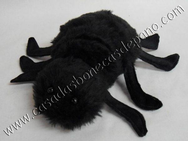 Pelúcia aranha tema Homem Aranha