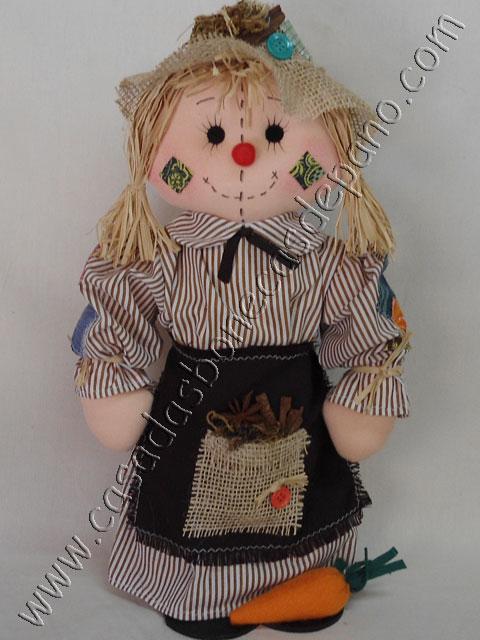 Boneca de pano Espantalha