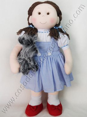Boneca Dorothy do tema Mágico de Oz
