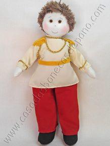 Boneco Príncipe tema Cinderela