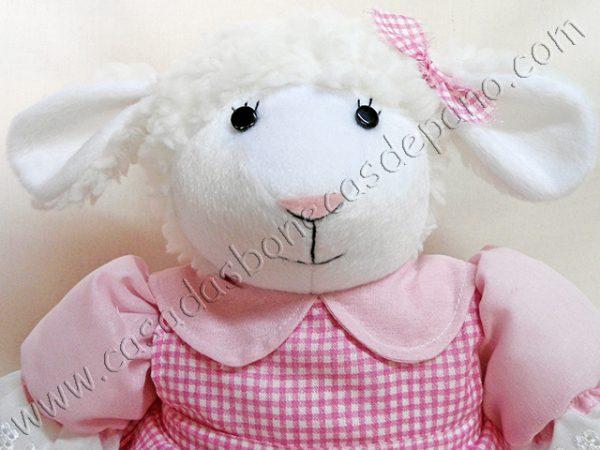 Pelúcia ovelha tema Fazendinha