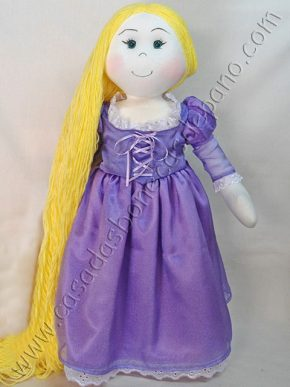 Boneca Rapunzel