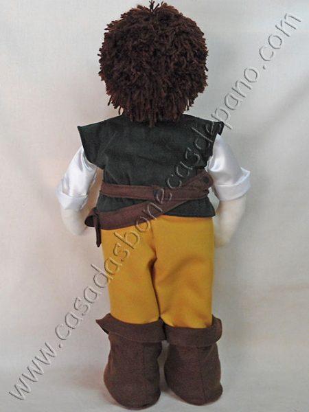 Boneco Flynn tema Rapunzel