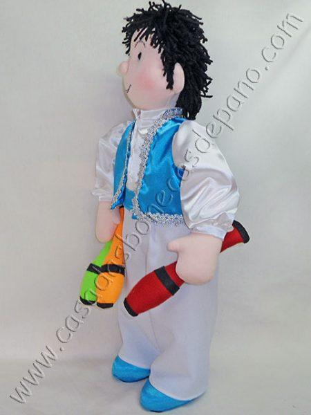 Boneco Malabarista tema Circo