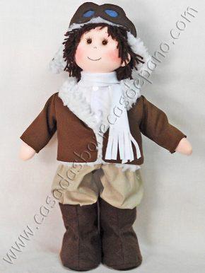 Boneco Aviador Tema Pequeno Príncipe