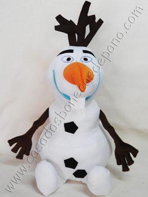 Boneco Olaf tema Frozen