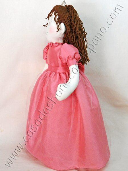 Boneca de Pano Princesa
