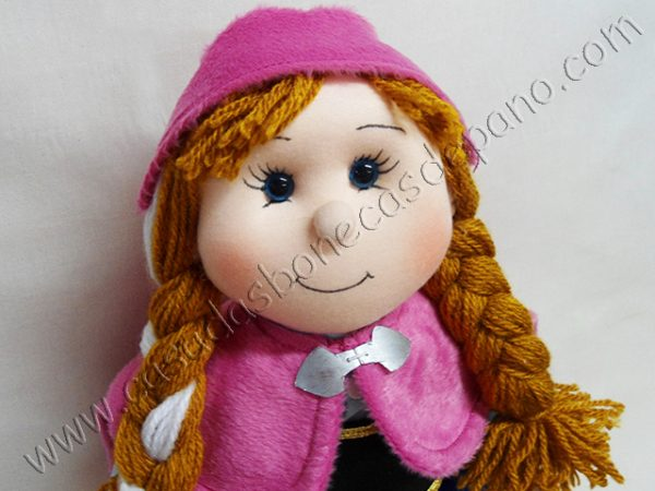Boneca Ana tema Frozen