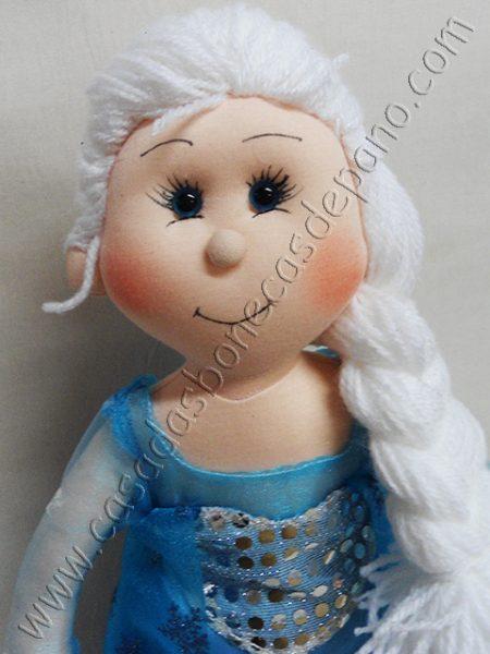 Boneca Elsa tema Frozen