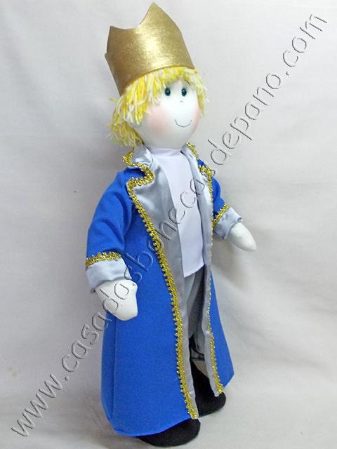 Boneco de pano Príncipe