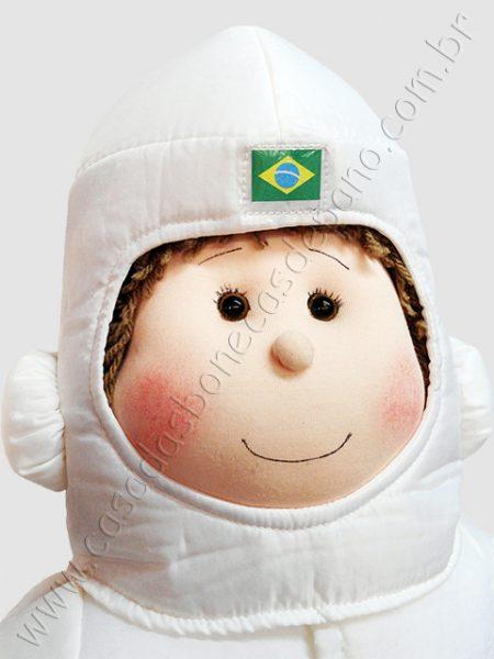 Boneco de pano astronauta