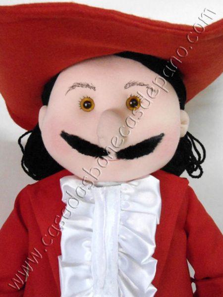 Boneco Capitão Gancho