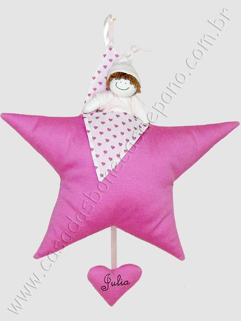 Estrela para porta de maternidade