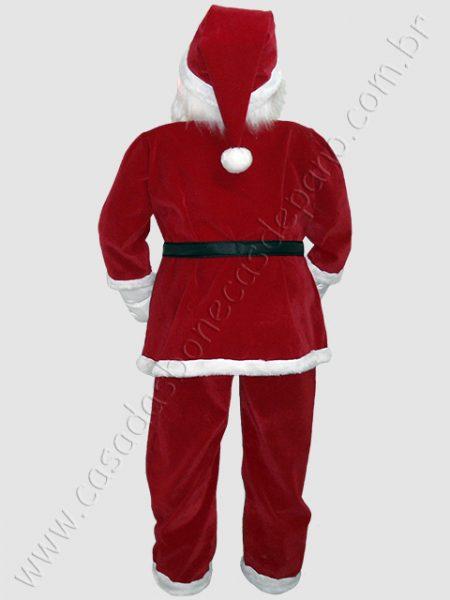Boneco Papai Noel tamanho real