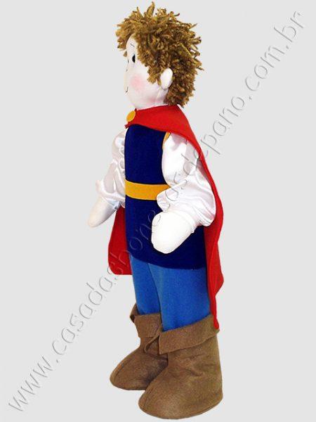 Boneco príncipe da Branca de Neve