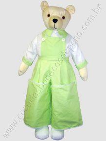 Boneco Urso porta-fraldas